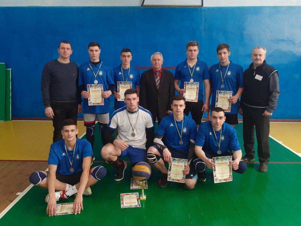 Команда юнаків училища в обласних змаганнях з волейболу отримала ІІ місце та стала срібним призером
